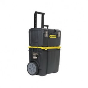 Stanley® STST18613 3-In-1 Heavy Duty Rolling Workshop, 24-3/10 in H x 11 in W x 18-1/2 in D, Plastic