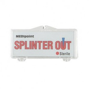Swift First Aid 320001 Disposable First Aid Splinter Out Kit, Plastic Case (MEDI 858)