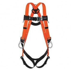 Miller™ T4007/UAK, Titan II Non-Stretch Full Body Harness w/ Side D-Ring, Mating Buckle Adjusters, Belt Loop, L/XL