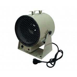 FAN FORCED PORTABLE UNIT HEATER, Watts: 4800, BTU's: 16384, Volts: 240/208, Phase: 1, Amps: 20, Heat Rise: 58°F