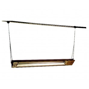 QUARTZ INFRARED SPOT HEATER, Watts: 1500, Volts: 120, Phase: 1, BTUs: 5120
