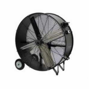 TPI CPB48B Belt Drive Standard Portable Blower, 120 VAC, 3/4 hp, 8800 cfm High, 7700 cfm Low, 48 in Aluminum Propeller, Import