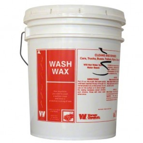 Warsaw 20784 Wash Wax Carwash Liquid - 5 Gallon