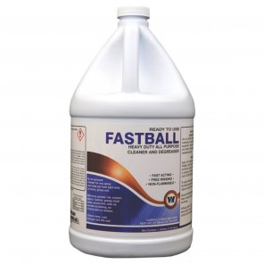 Warsaw 21638 Fastball 1 Gallon Size, Ready-To-Use All Purpose Cleaner and Degreaser, 4 per Case