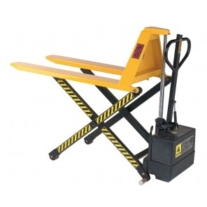 """ELECTRIC HIGH LIFT PALLET TRUCK, Fork Size: 27 x 45"""""""