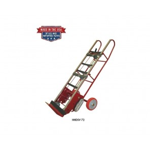 HEAVY DUTY VENDING TRUCKS, Cap. (lbs.): 1800, Ratchet System: Auto Rewind, Tightening Belt: 2 pc. w/clasp, Height: 72""