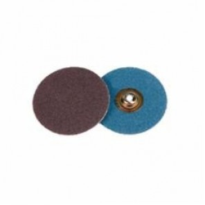 Weiler® 60121 Plastic Button Style Coated Abrasive Disc, 2 in Dia, 60 Grit, Medium Grade, Aluminum Oxide Abrasive