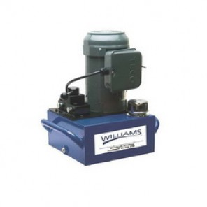 Williams® 5E10H2G Electric Hydraulic Pump, 2 Stages, 1 hp, 311 cu-in/min 1st Stage, 37 cu-in/min 2nd Stage, 700 psi (1st Stage)/10000 psi (2nd Stage)