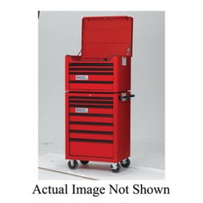 Williams® W26TC4B Professional Top Chest, 19-13/32 in H x 26-23/32 in W x 19-13/16 in D, Aluminum Handle/Steel Drawer