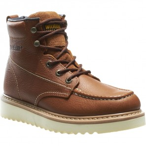 "Men's Wolverine Moc-Toe Steel-Toe EH 6"" Work Boot"