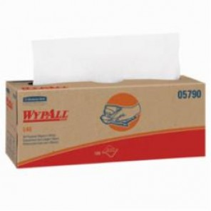 WypAll; 05790 Disposable Wiper, 16.4 in L x 9.8 in W, DRC, White