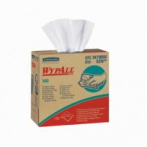 WypAll; 34790 High-Tech Disposable Wiper, 16.8 in L x 9.1 in W, Hydroknit, White
