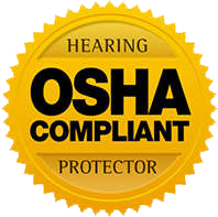 OSHA Compliant Hearing Protector Badge